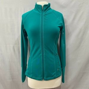 Active by Old Navy Full ZipUp Athletic Jacket Teal